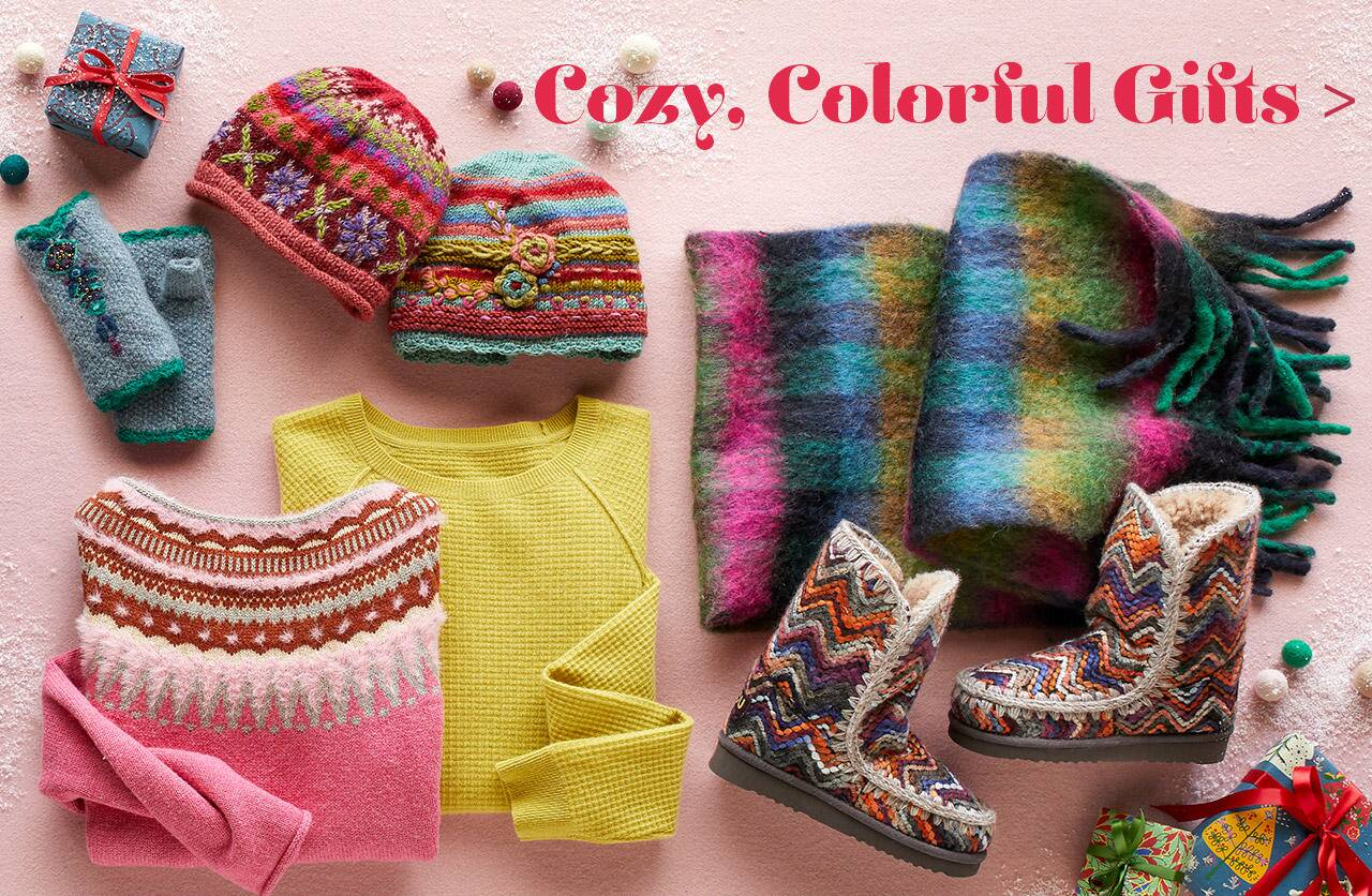 Cozy and Colorful Gifts