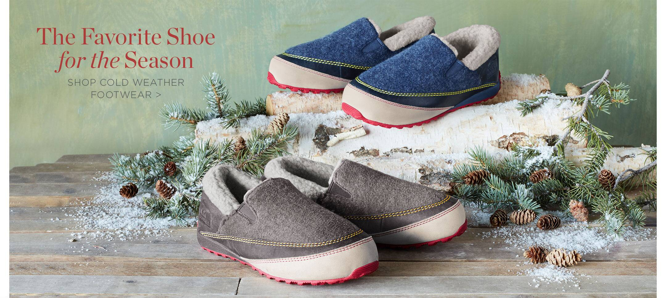 Shop Cold Weather Footwear