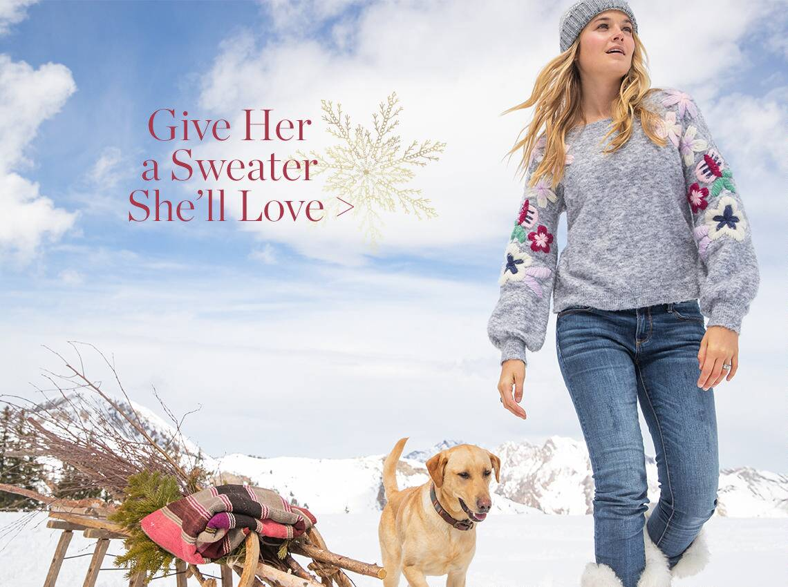 Sweaters She'll Love