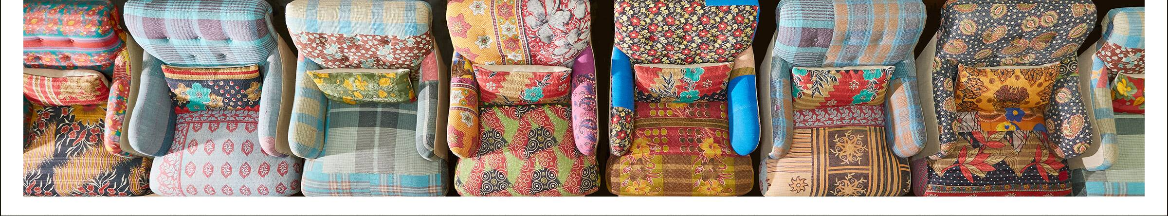 One-of-a-Kind Sari Chair