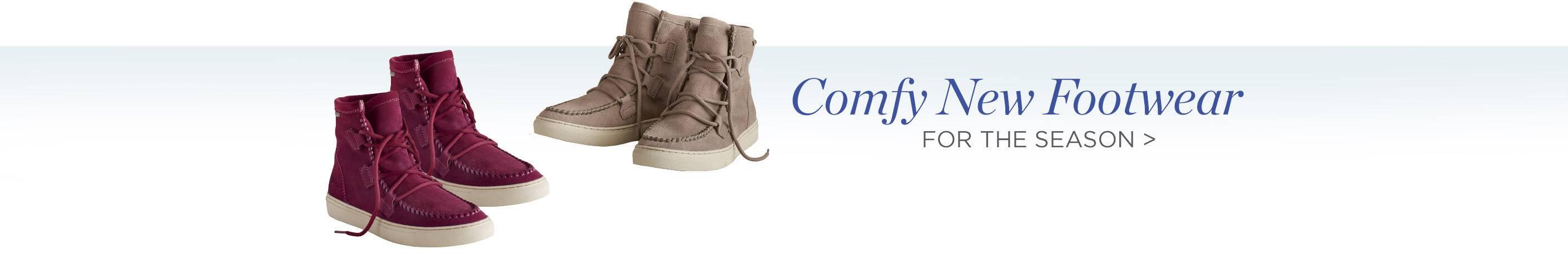 Comfy New Footwear