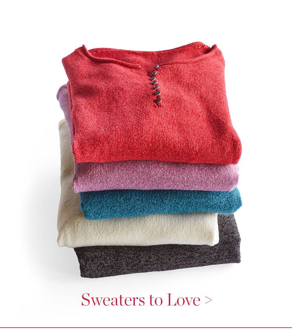 Sweaters To Love
