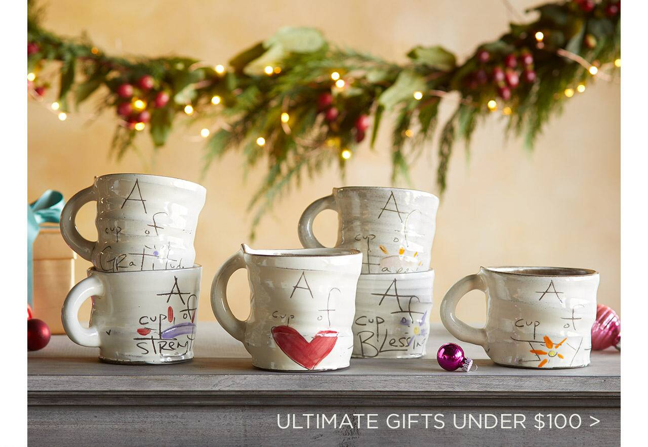 Ultimate Gifts Under $100