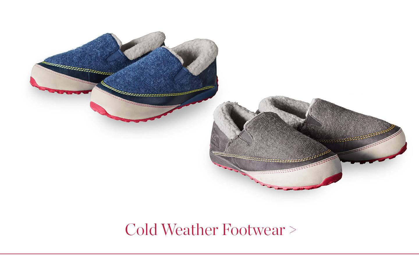 Cold Weather Footwear