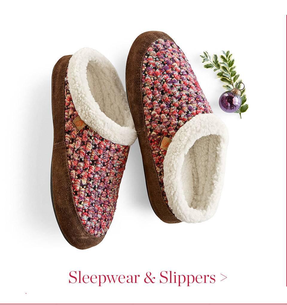 Sleepwear and Slippers