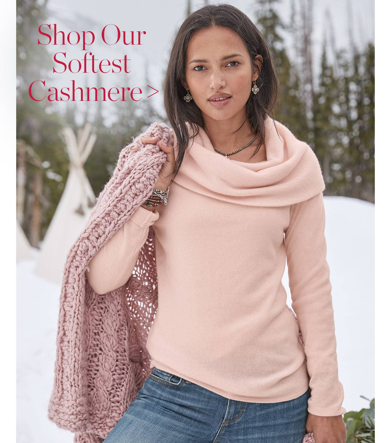 Shop Our Softest Cashmere