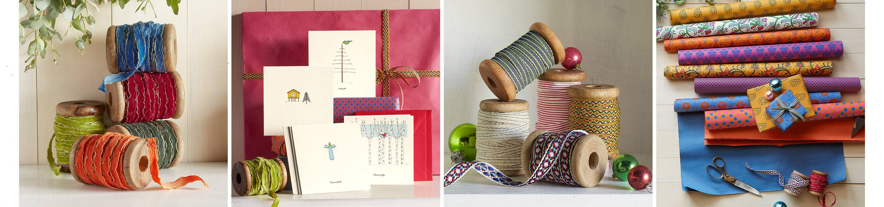 Gift Wrap and Ribbons