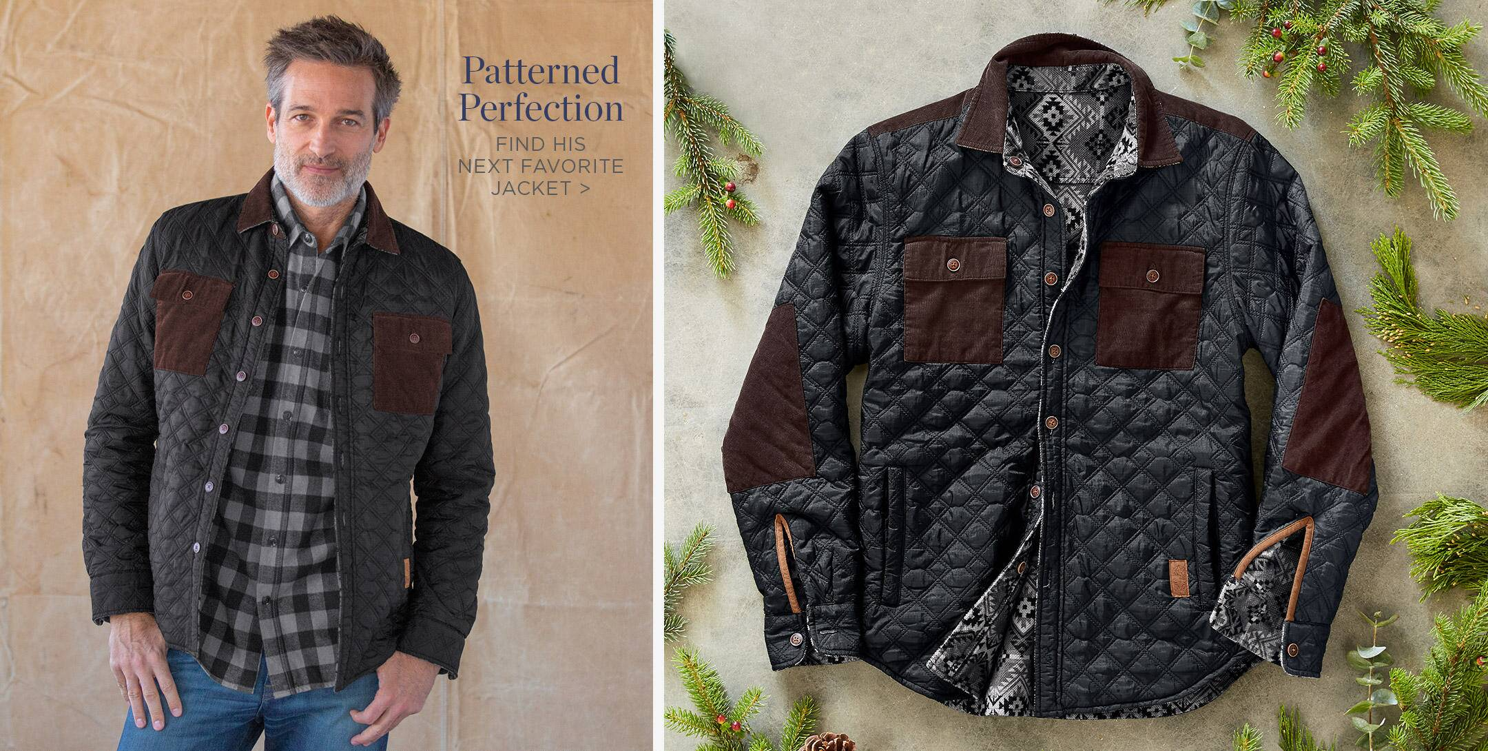 Shop Jackets for Him