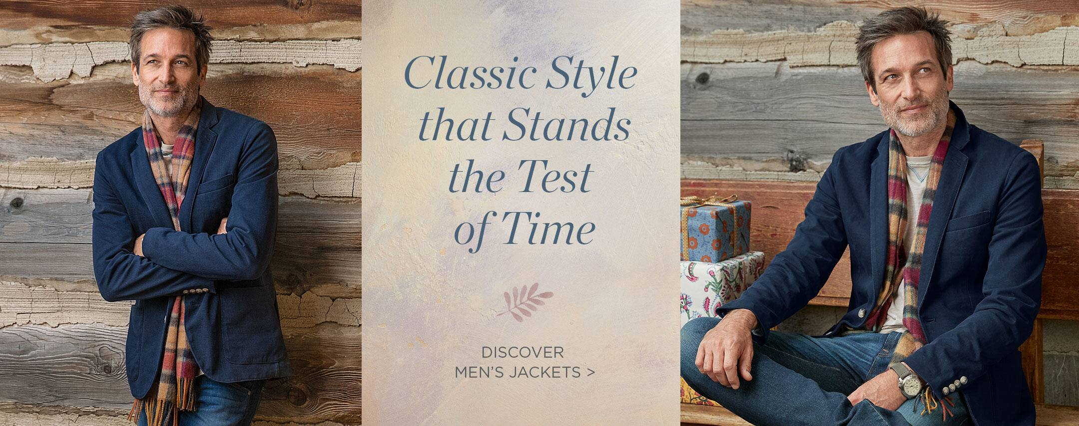 Discover Men's Jackets
