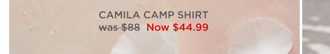 Camila Camp Shirt