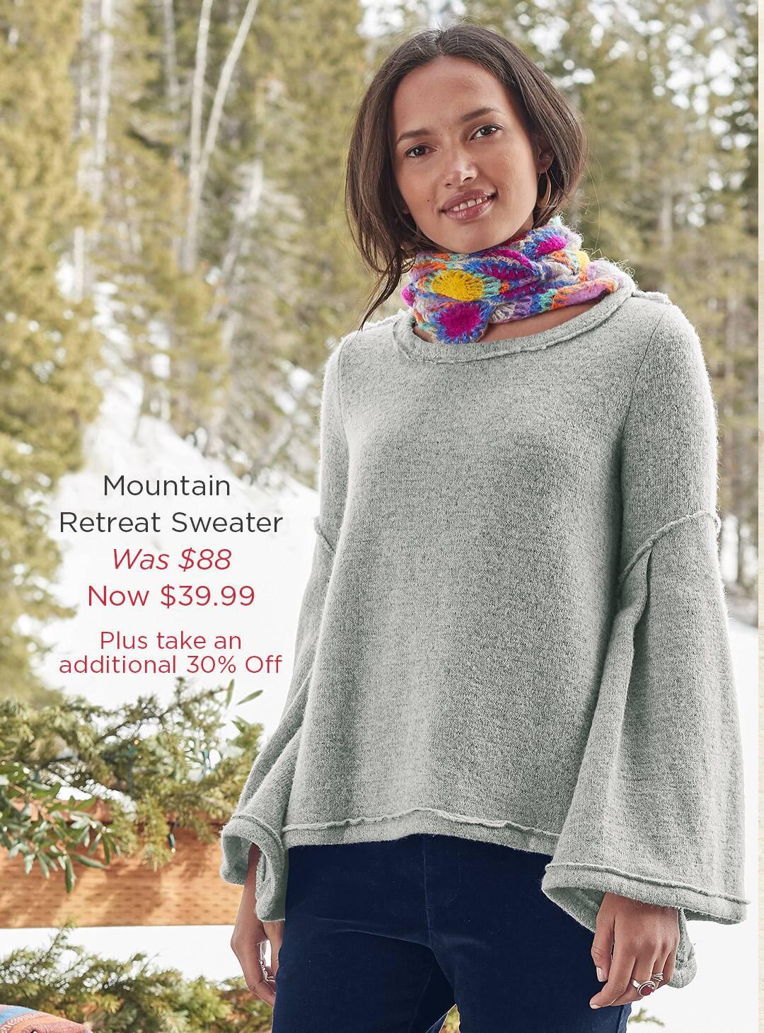 Mountain Retreat Sweater