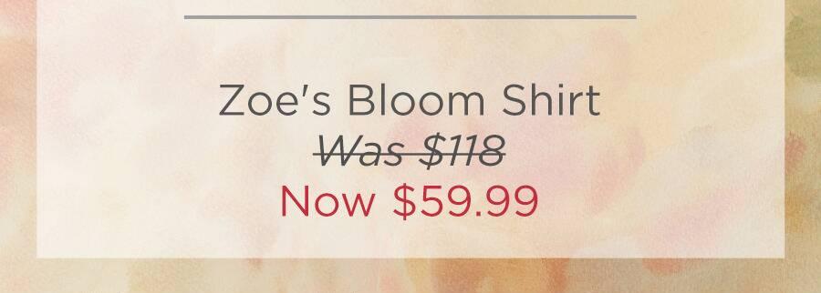 Zoe's Bloom Shirt