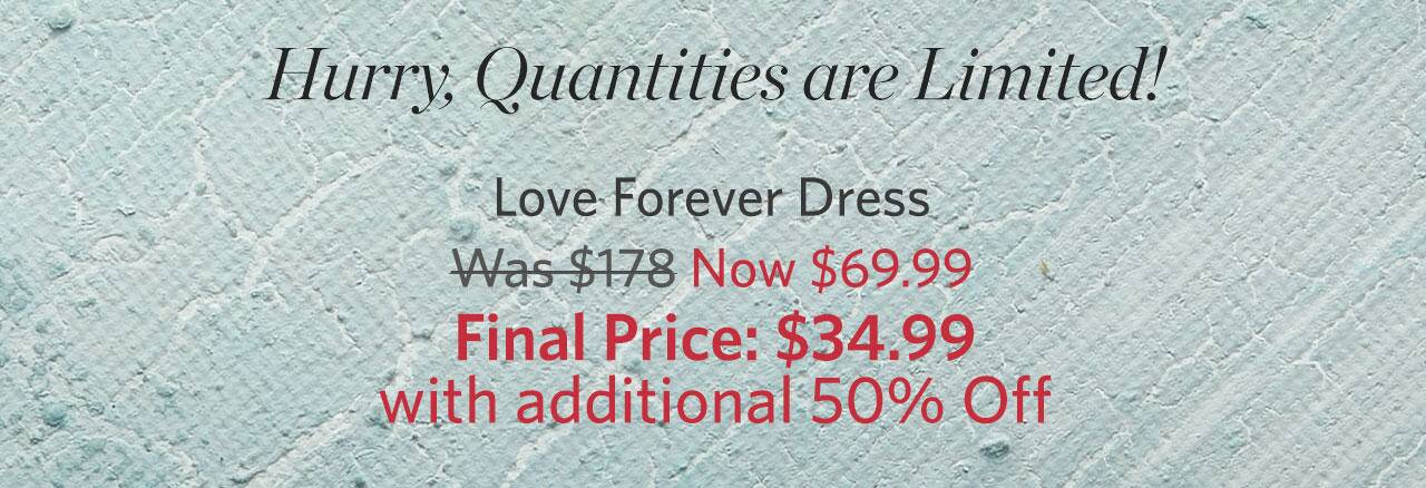 Love Forever Dress
