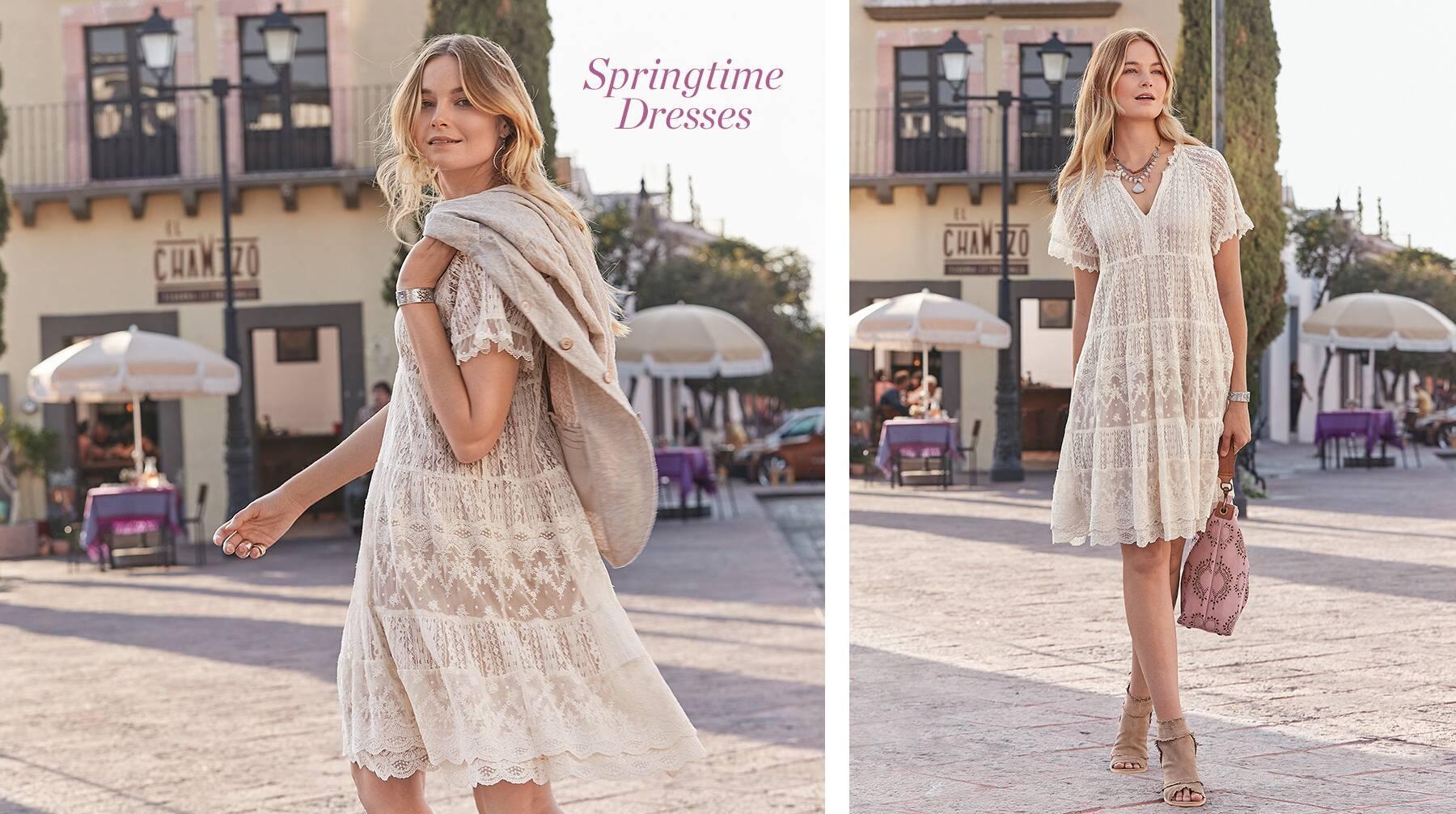 Springtime Dresses
