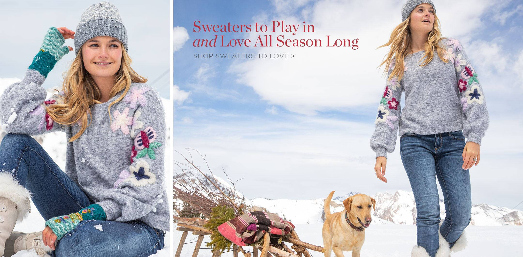 Shop Sweaters to Love