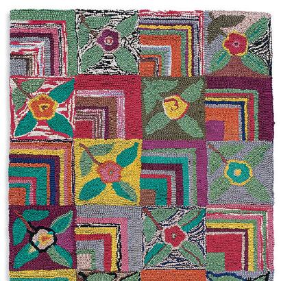 GYPSY ROSE HOOKED RUG