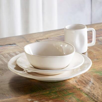 ALEX MARSHALL ORGANIC DINNERWARE, 4-PIECE PLACE SETTING