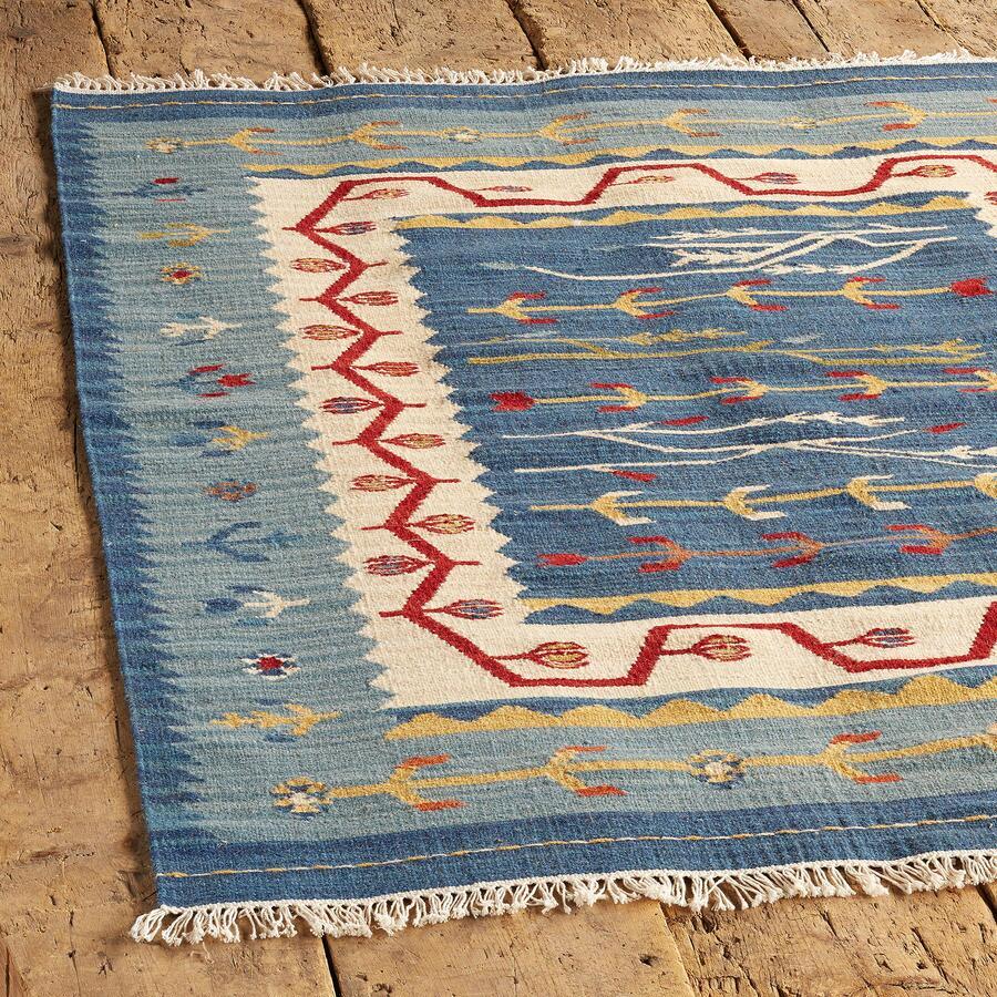 Wool Cotton Dhurrie Rug Robert Redford S Sundance Catalog