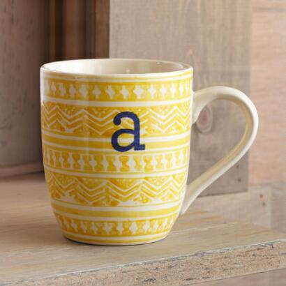 TO THE LETTER YELLOW MUG