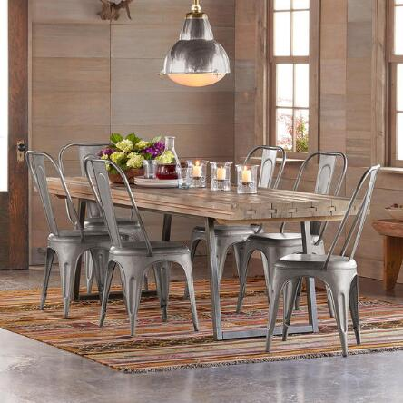 Rich with rustic appeal  this reclaimed wood plank table will bring  character to any room. Dining Tables   Islands   Furniture   Home Furnishings   Robert