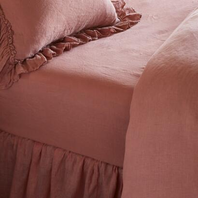 GOSSAMER LINEN FITTED SHEET