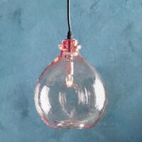 Salon Glass Demijohn Pendant Light Robert Redford S