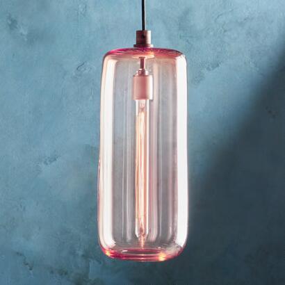 SALON GLASS CYLINDER PENDANT LIGHT