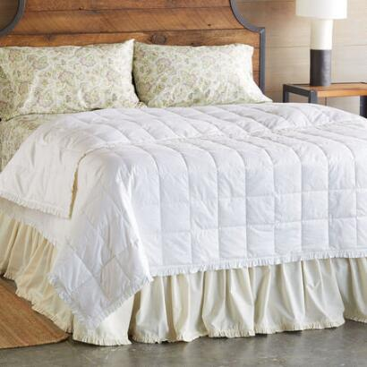 SUNDANCE ESSENTIALS RUFFLE DOWN DUVET