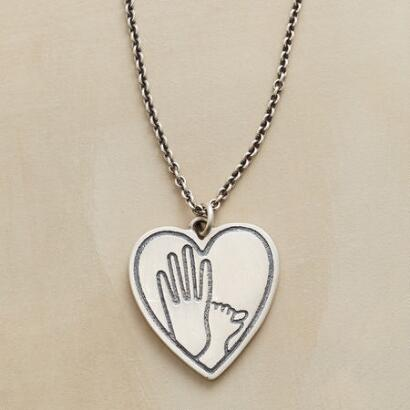 HEART AND HANDS NECKLACE