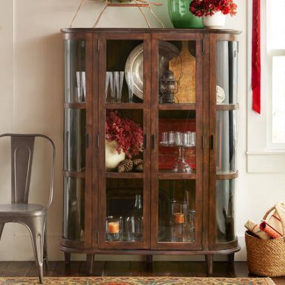 PIONEER PARLOR DISPLAY CABINET