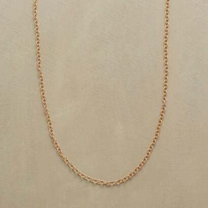 "24"" GOLD CHAIN CHARMSTARTER NECKLACE"