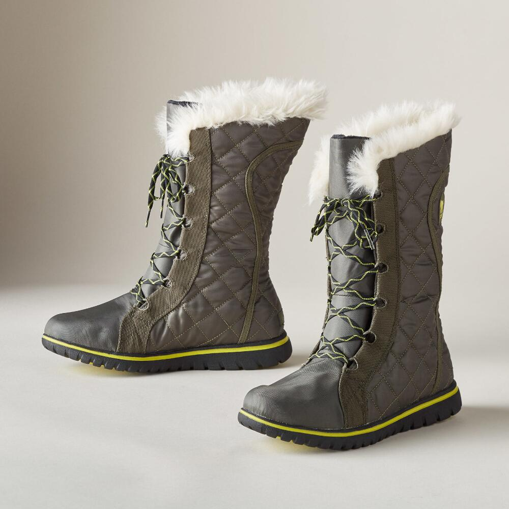 COZY CATE QUILTED BOOTS | Robert Redford's Sundance Catalog : quilted long boots - Adamdwight.com