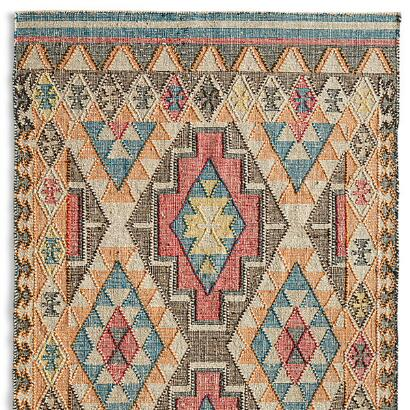 FADED DIAMONDS KILIM RUG