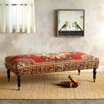 ADANA TURKISH CARPET BENCH