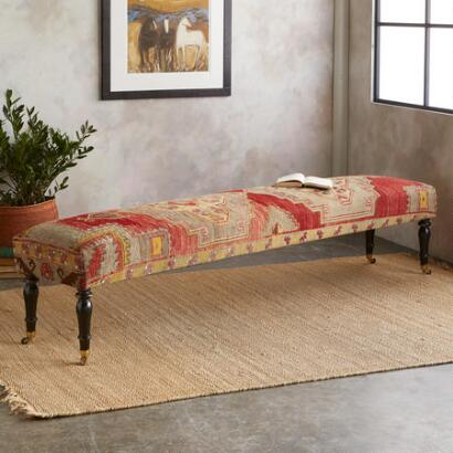 MARDIN TURKISH CARPET BENCH