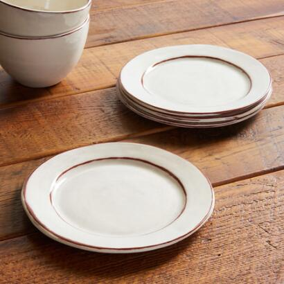 MIDI SALAD PLATES, SET OF 4