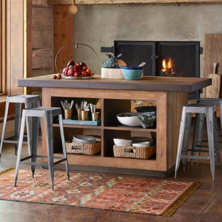 Reinvent Any Space With This Reclaimed Wood Kitchen Island Rich Distinctive Beauty