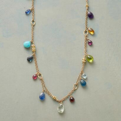 BOUQUET OF BLOOMS NECKLACE
