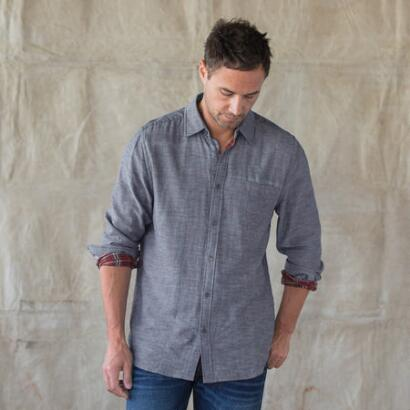 CHAMBRAY ALASTAIR SHIRT
