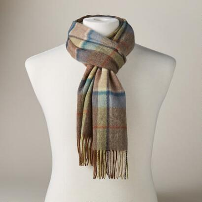 ROONEY FRAME CHECK SCARF