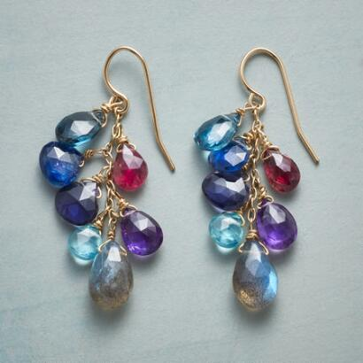 BLUE WAVELENGTH EARRINGS