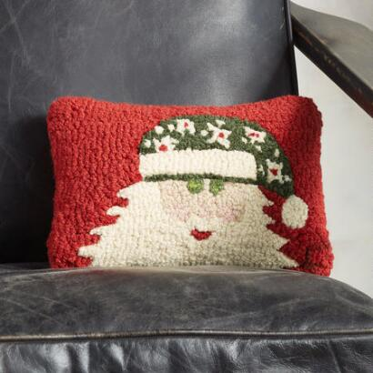 MR. SANTA MINI PILLOW