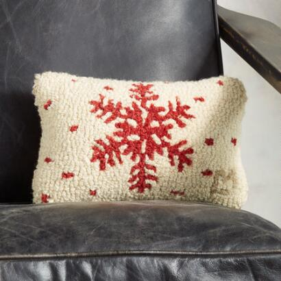 SNOWFLAKE MINI PILLOW