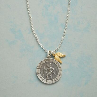 ST. CHRISTOPHER CHARM NECKLACE