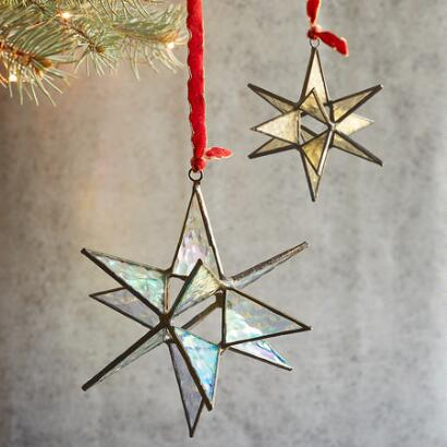 LARGE POINTS OF LIGHT ORNAMENT