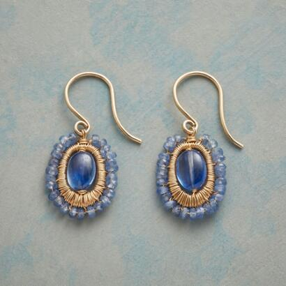 BLUE MINGLING EARRINGS