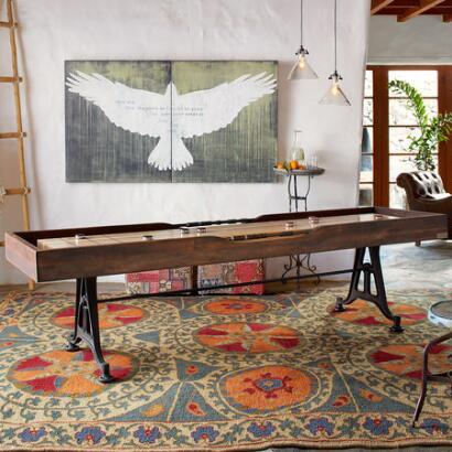 CLASSIC SHUFFLEBOARD TABLE, SMALL