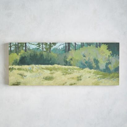 SPRING MEADOW PAINTING