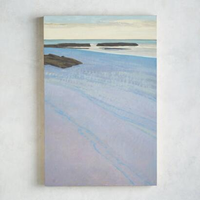 BLUE TIDE PAINTING